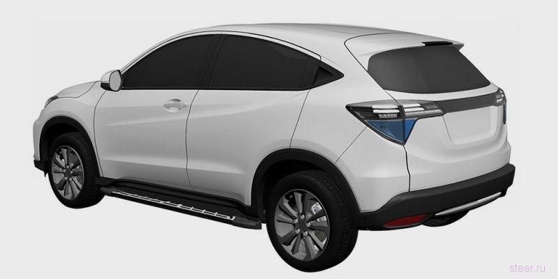 Honda анонсировала электрический кроссовер на базе модели HR-V
