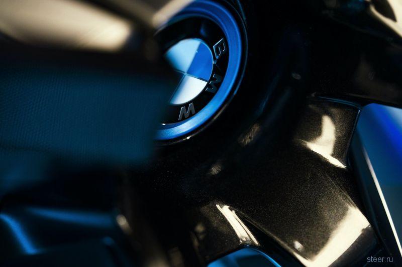 Прототип нового электрического кроссовера BMW iNext