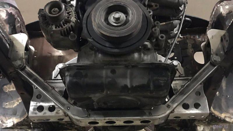 В Самаре строят заднеприводную Ладу Весту с двигателем и мостом от Toyota Mark II