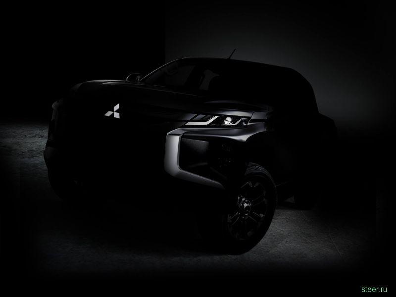 Первое изображение нового пикапа Mitsubishi L200
