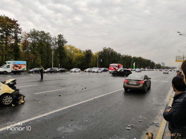 ДТП на Кутузовском проспекте 16.09.2018