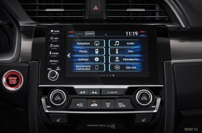 Представлен обновленный Honda Civic