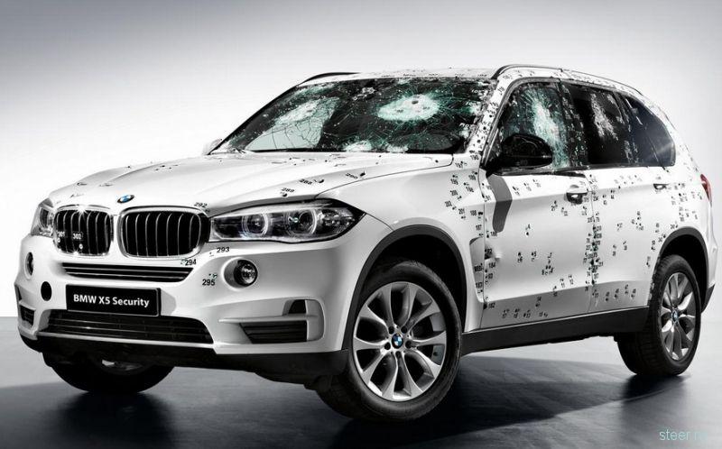 В России будет продаваться бронированный BMW X5