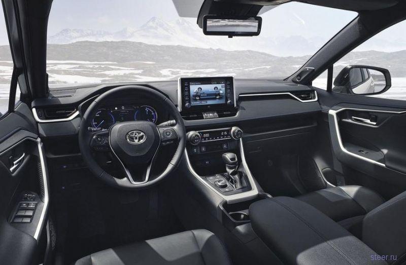 Новая Toyota RAV4 появится в России в 2019 году
