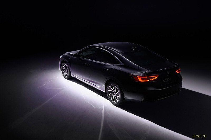 Первые изображения нового Honda Insight для японского рынка