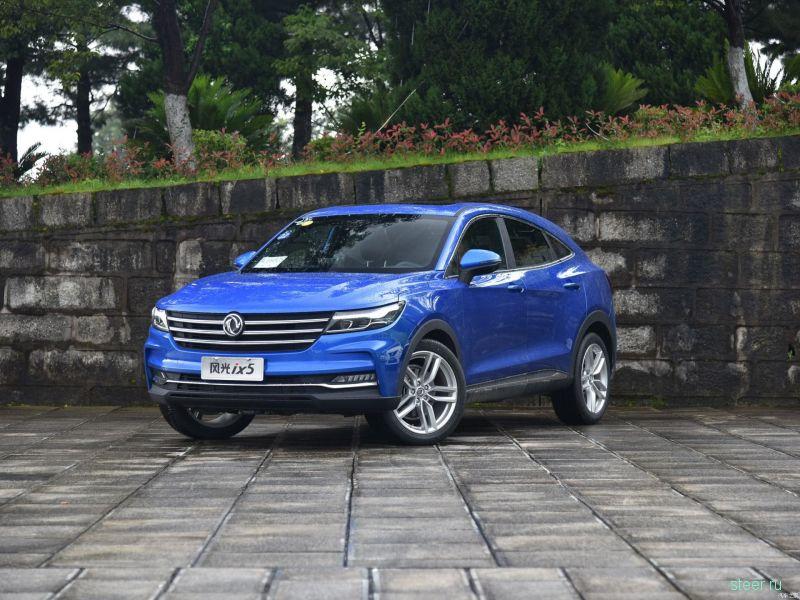 В Китае начинаются продажи бюджетного купе-кроссовера Dongfeng iX5