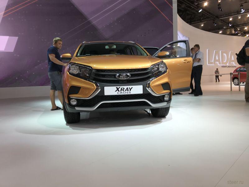 В Тольятти стартовало серийное производство кроссоверов Lafa XRAY Cross