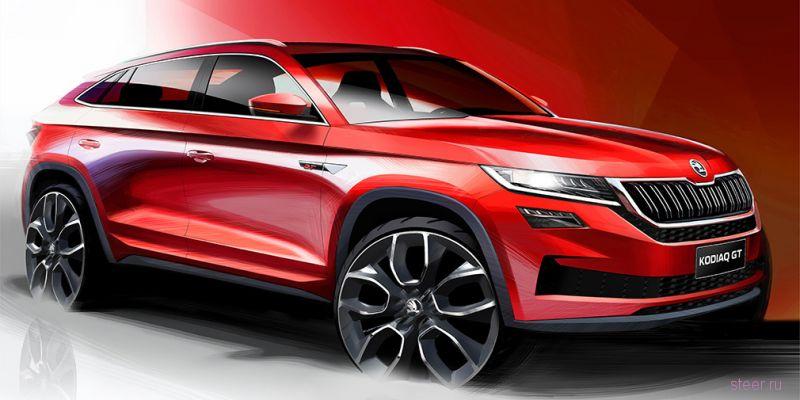 Skoda «Скала» - новый автомобиль марки Skoda покажут в этом году