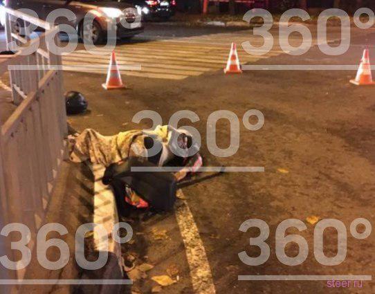 «Самая сексуальная байкерша» разбилась на мотоцикле в Москве