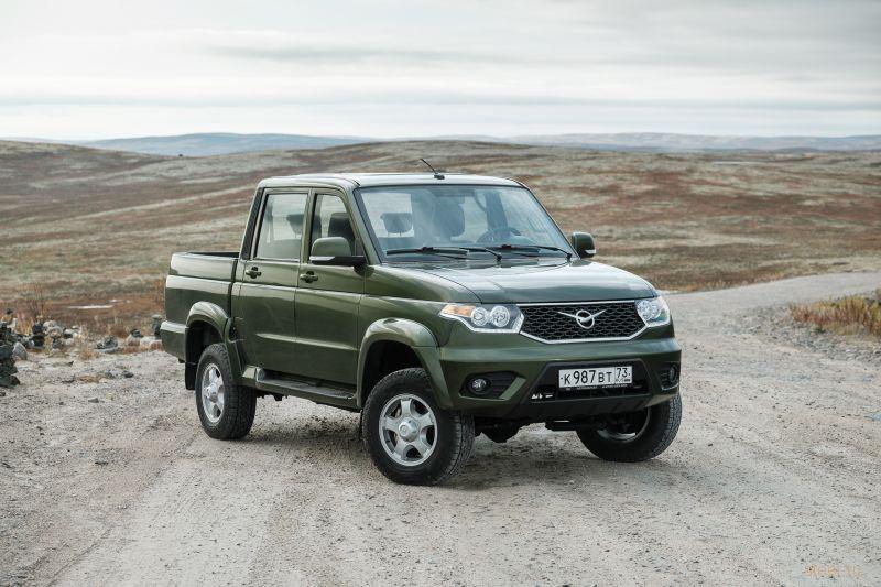 УАЗ объявил цены и комплектации обновленного УАЗ «Пикап»