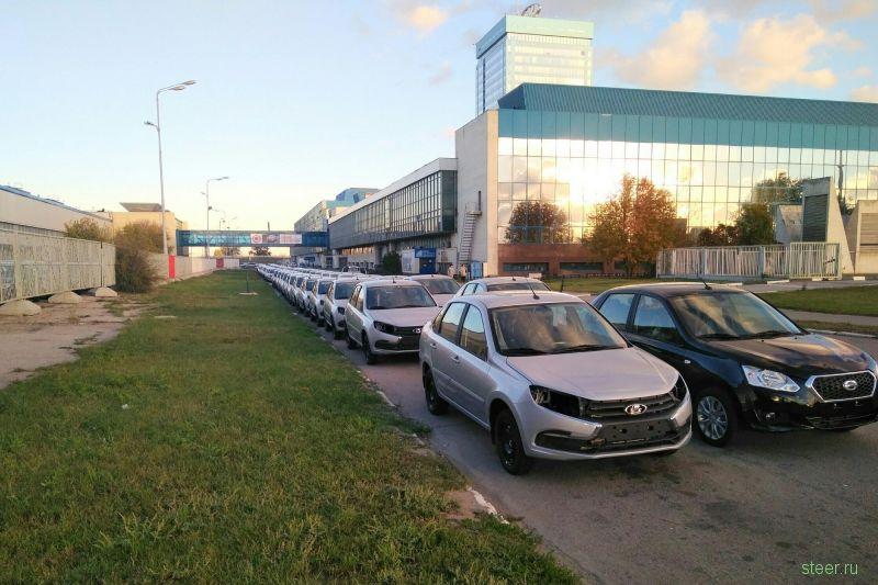 Отстойники «АвтоВАЗа» забиты недоукомплектованными машинами