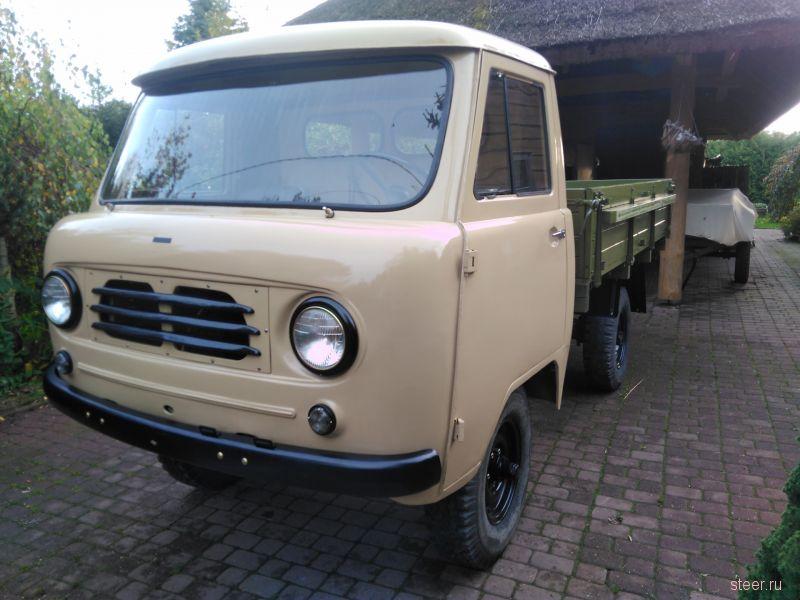 В Эстонии восстановили редчайший «УАЗик»
