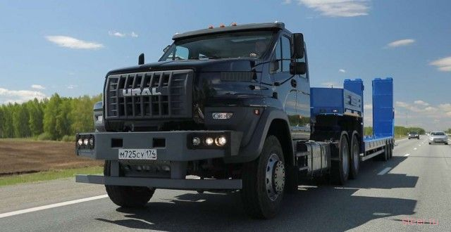 Автомобильный завод «Урал» начал выпуск конкурентов КамАЗ и МАЗ