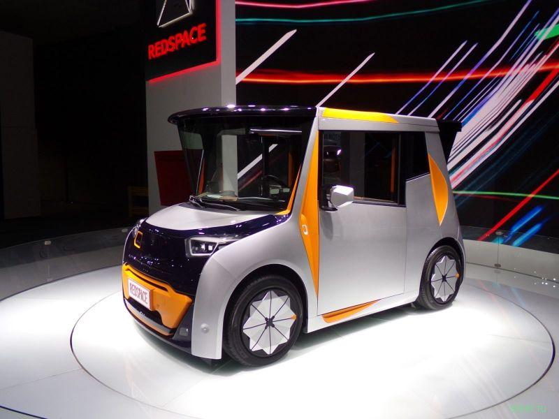 REDS : китайский электромобиль с дизайном от бывшего шеф-стилиста BMW