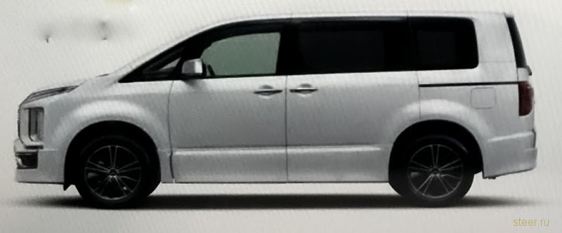 Первые изображения новой Mitsubishi Delica