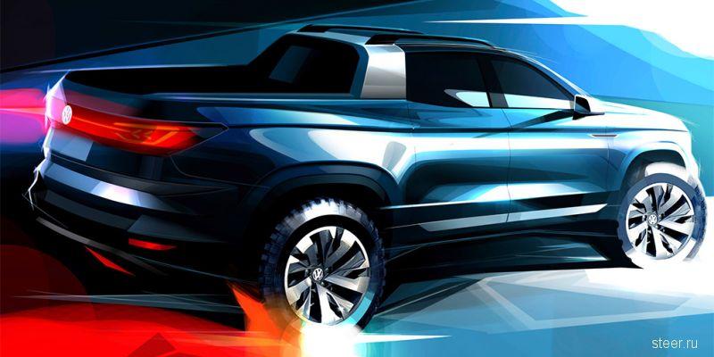 Перове изображение нового пикапа Volkswagen