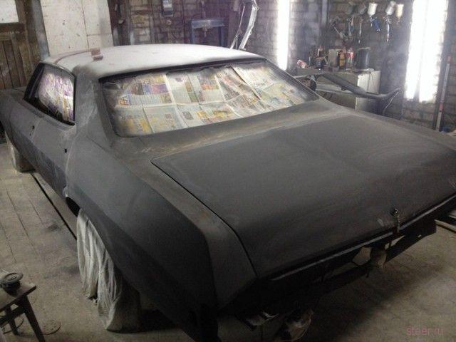Реставрация Chevrolet Impala 1969 года