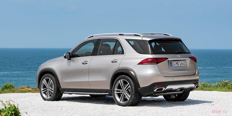Объявлены рублевые цены на новый Mercedes GLE