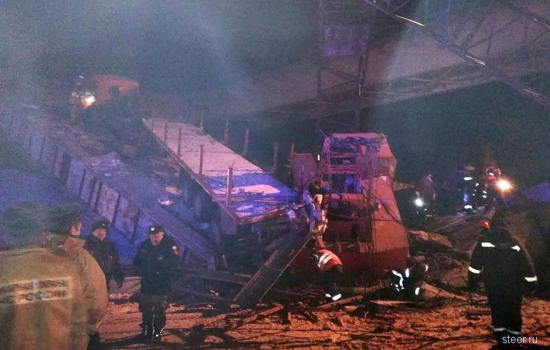 В России рухнул еще один автомобильный мост