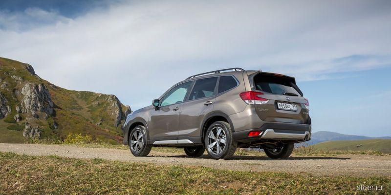 Стартовали российские продажи нового Subaru Forester