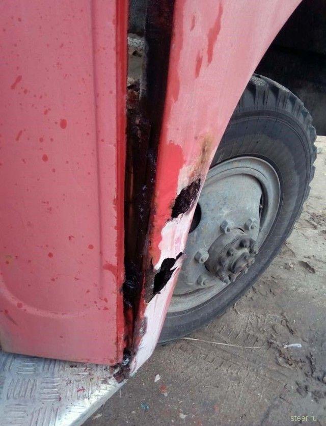 Восстановление автобуса ПАЗ 3201-С