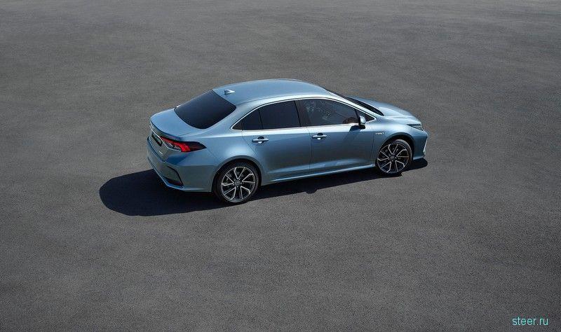 В Китае официально предствили новый седан Toyota Corolla