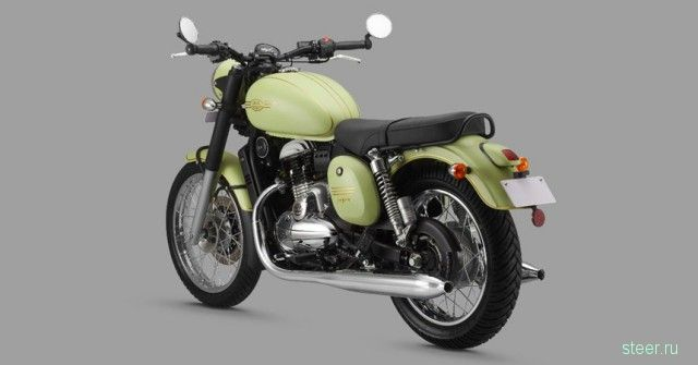В Индии представлены три новые модели мотоцикла Jawa
