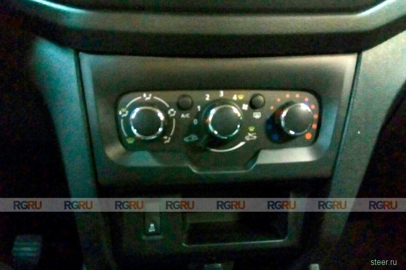 Первые фото ультрабюджетного Lada Xray