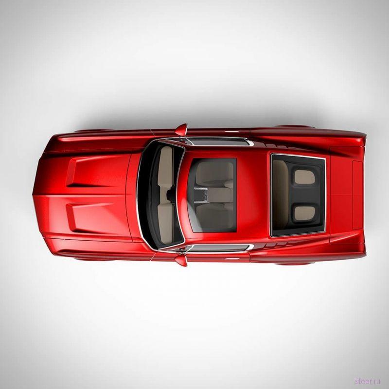 Aviar R67 : российский электрический спорткар с дизайном в стиле классического Мустанга