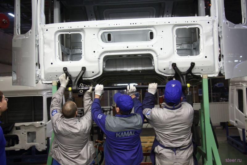 КАМАЗ приступил к сборке предсерийных образцов кабин абсолютно нового поколения