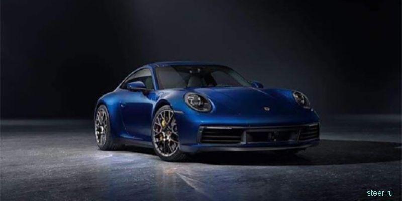 Первые фото нового Porsche 911