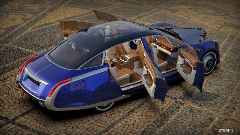 Независимый российский дизайнер представил готовый проект возрожденного ЗИМа