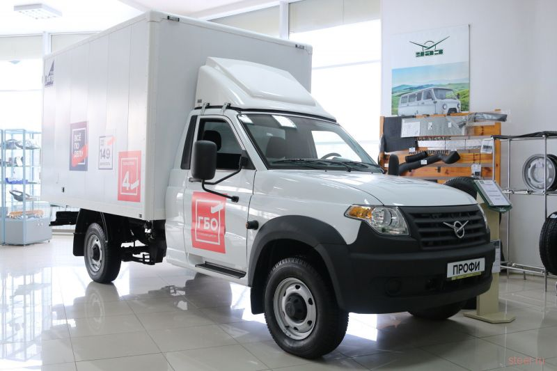 Представлен модернизированный грузовик UAZ Profi