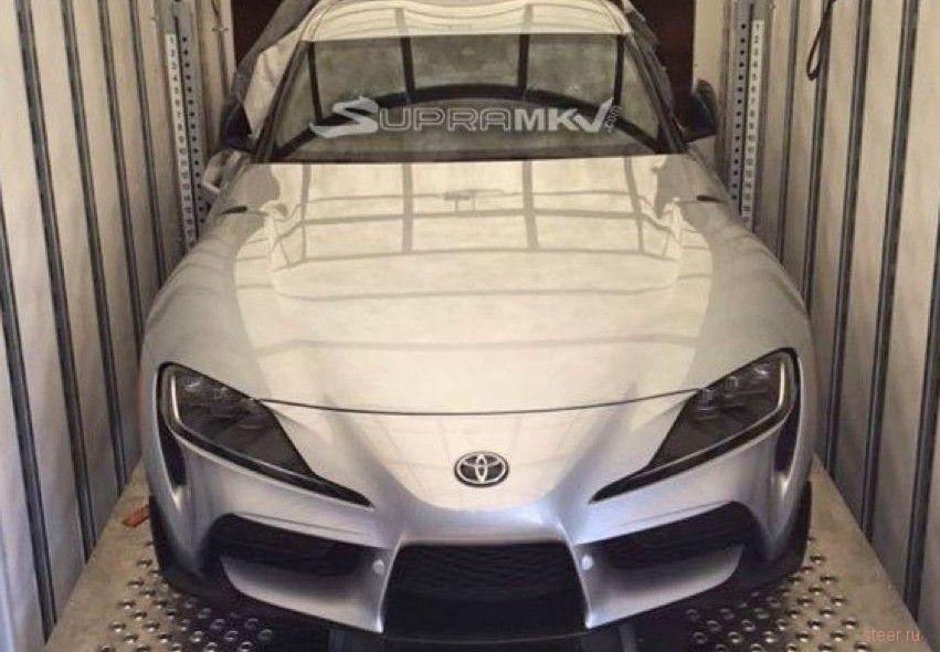 Первое фото серийной Toyota Supra нового поколения