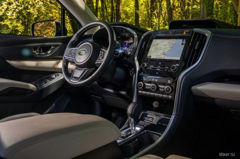 Subaru будет продавать в России свой самый большой кроссовер Ascent