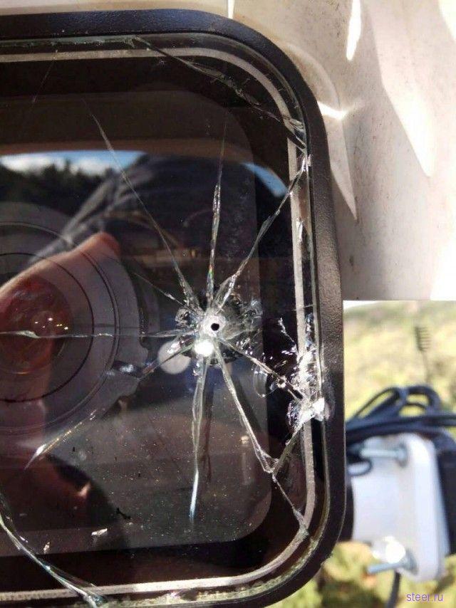 В Севастополе изощренно уничтожают камеры видеофиксации нарушений ПДД