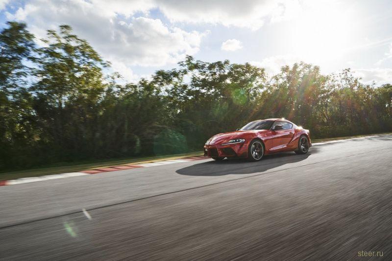 Новую Toyota Supra будут продавать в России