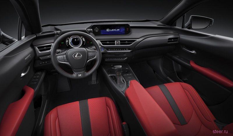 Компактный кроссовер Lexus UX: от 2 316 000 рублей