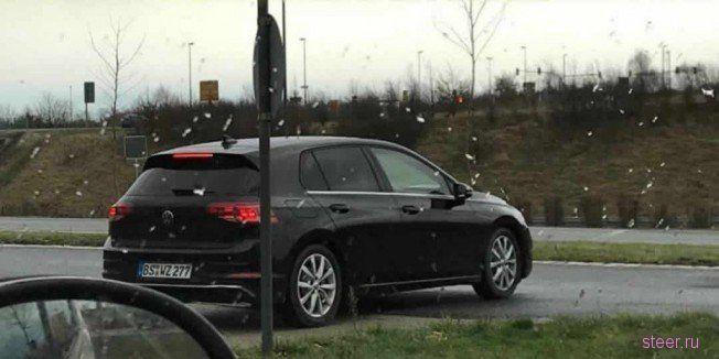 Первые фото нового Volkswagen Golf
