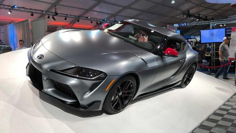 Первую Toyota Supra нового поколения оценили в 10 Lamborghini Huracan