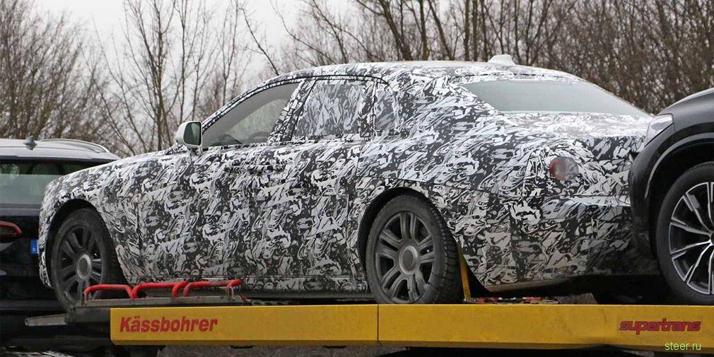 Первые фото нового Rolls-Royce Ghost
