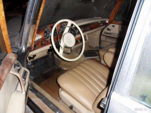 В Голландии обнаружен раритетный Mercedes-Benz 1965 года с нулевым пробегом