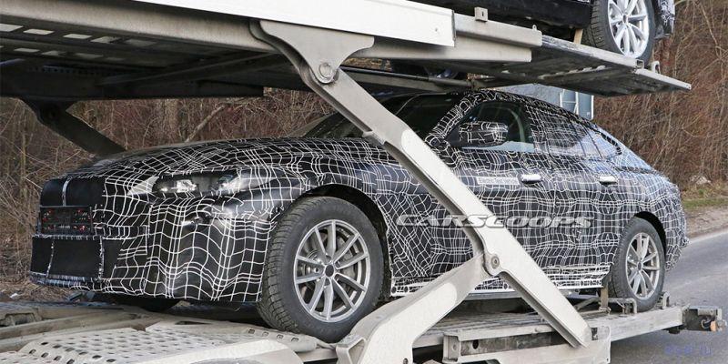 Опубликованы первые фотографии нового электрокара BMW i4