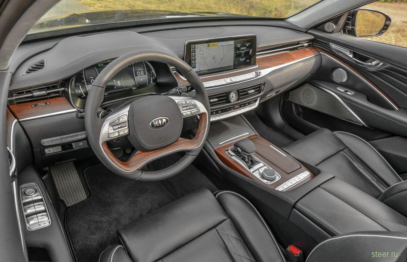Флагманский седан Kia K900 : от 2 969 900 рублей.
