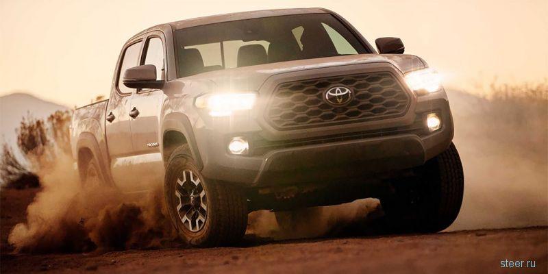 Представлен обновленный пикап Toyota Tacoma