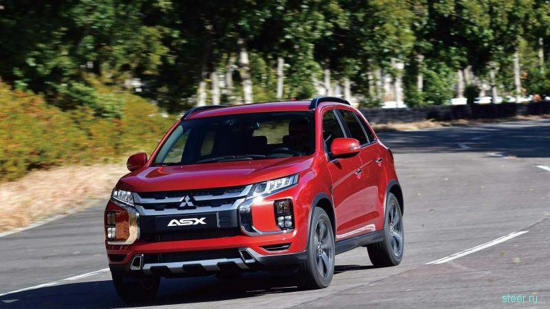 Представлен обновленный Mitsubishi ASX