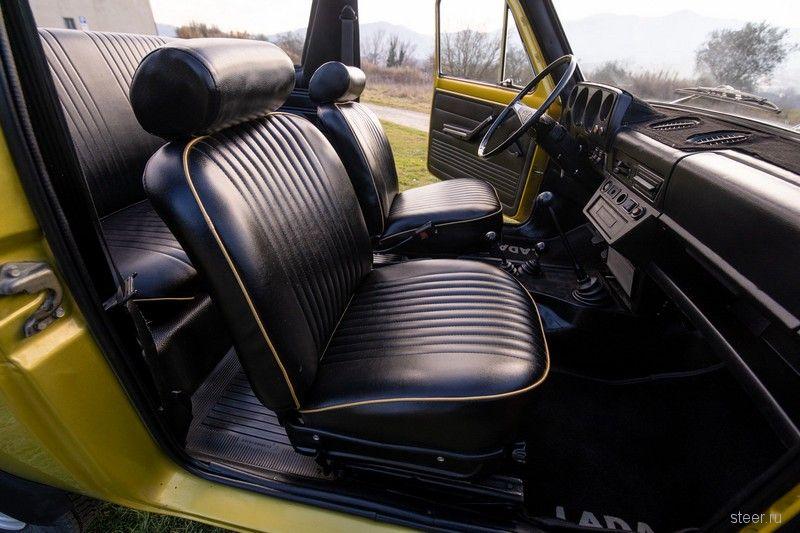 Редкую «Ниву»-кабриолет продали за $5 000