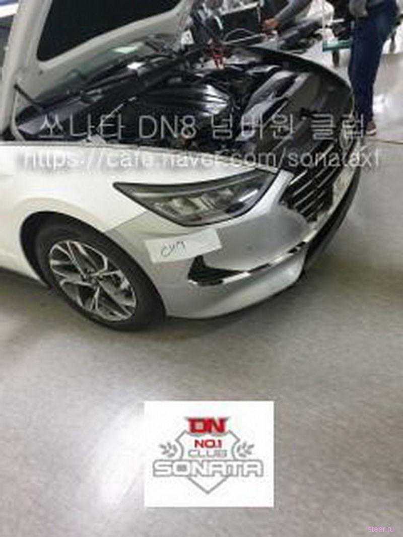 Первые фото нового Hyundai Sonata