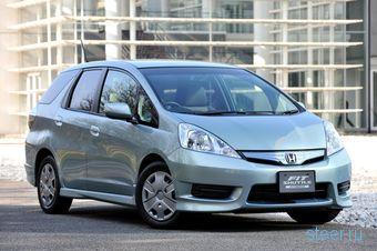 Honda Fit Shuttle дебютировал, но только на фотографиях (фото)