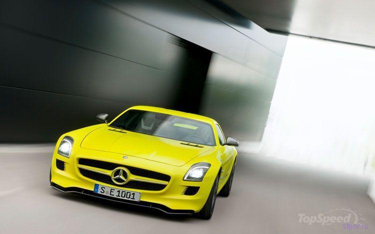 2015 Mercedes-Benz SLS AMG E-Cell (фото)